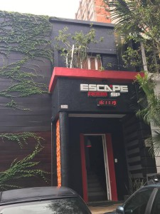Fachada do EscapeRoom SP