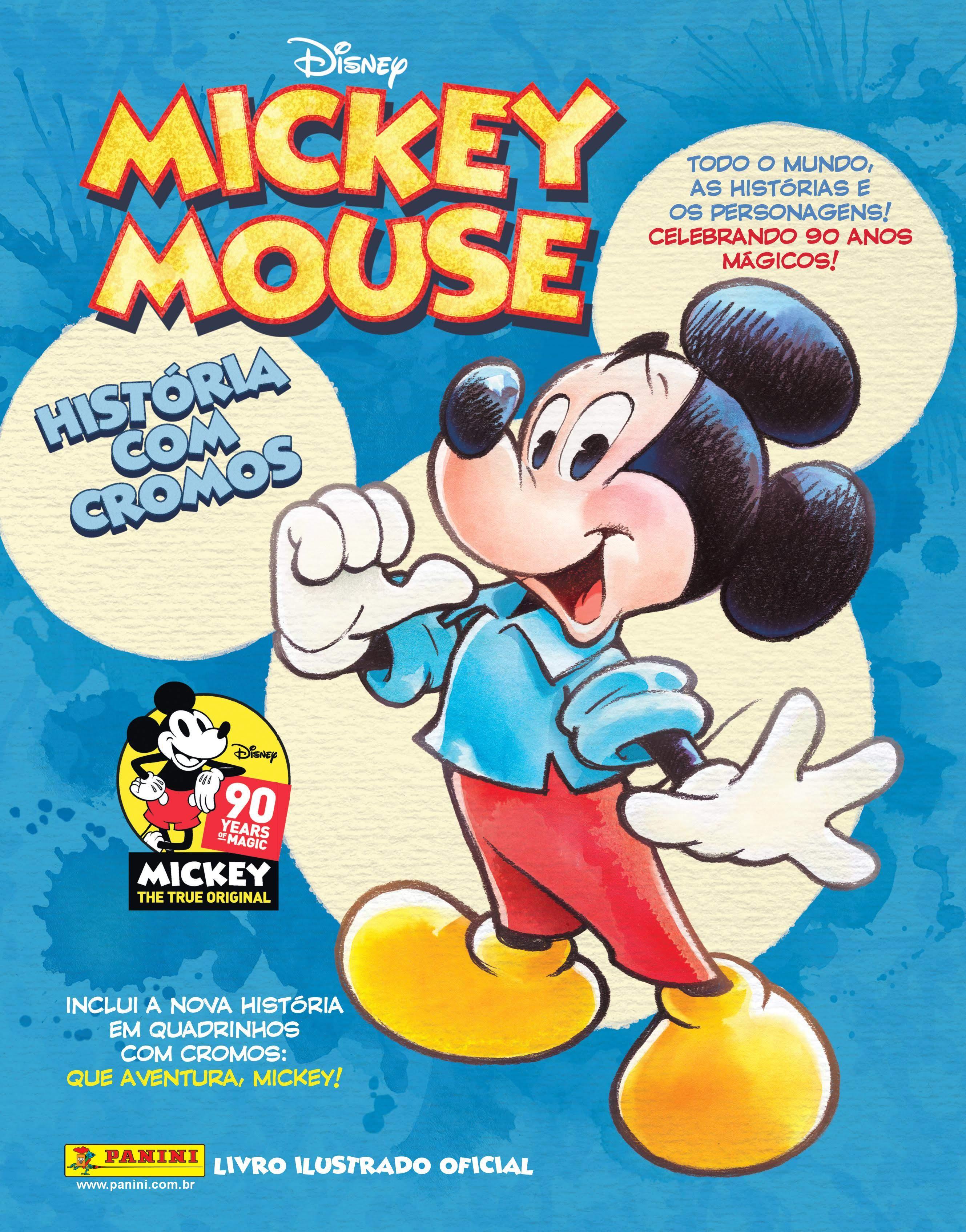 Panini licencia marcas da Disney e lança álbum ilustrado comemorativo…