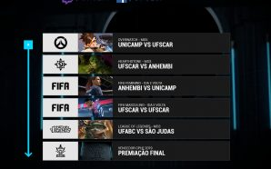 Grande Final do primeiro Campeonato Paulista Universitário de E-Sports federado…
