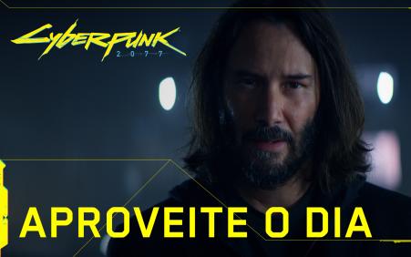 Novo comercial de Cyberpunk 2077 é estrelado por Keanu Reeves