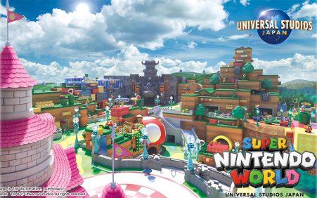 Área Super Nintendo World será a primeira a ser inagugurada…
