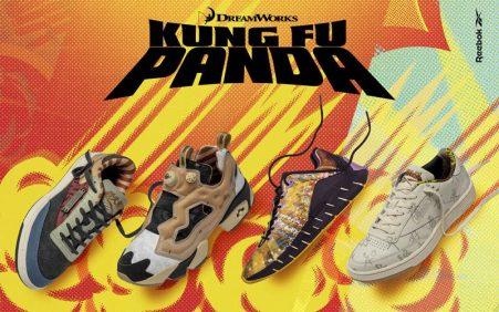 Kung Fu Panda é tema de nova coleção da Reebok…