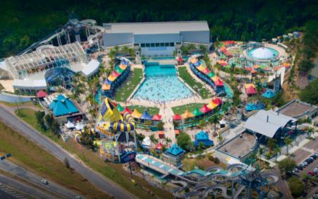 Presença de Cascão, Wi-fi aberto e iluminação inédita em piscina…